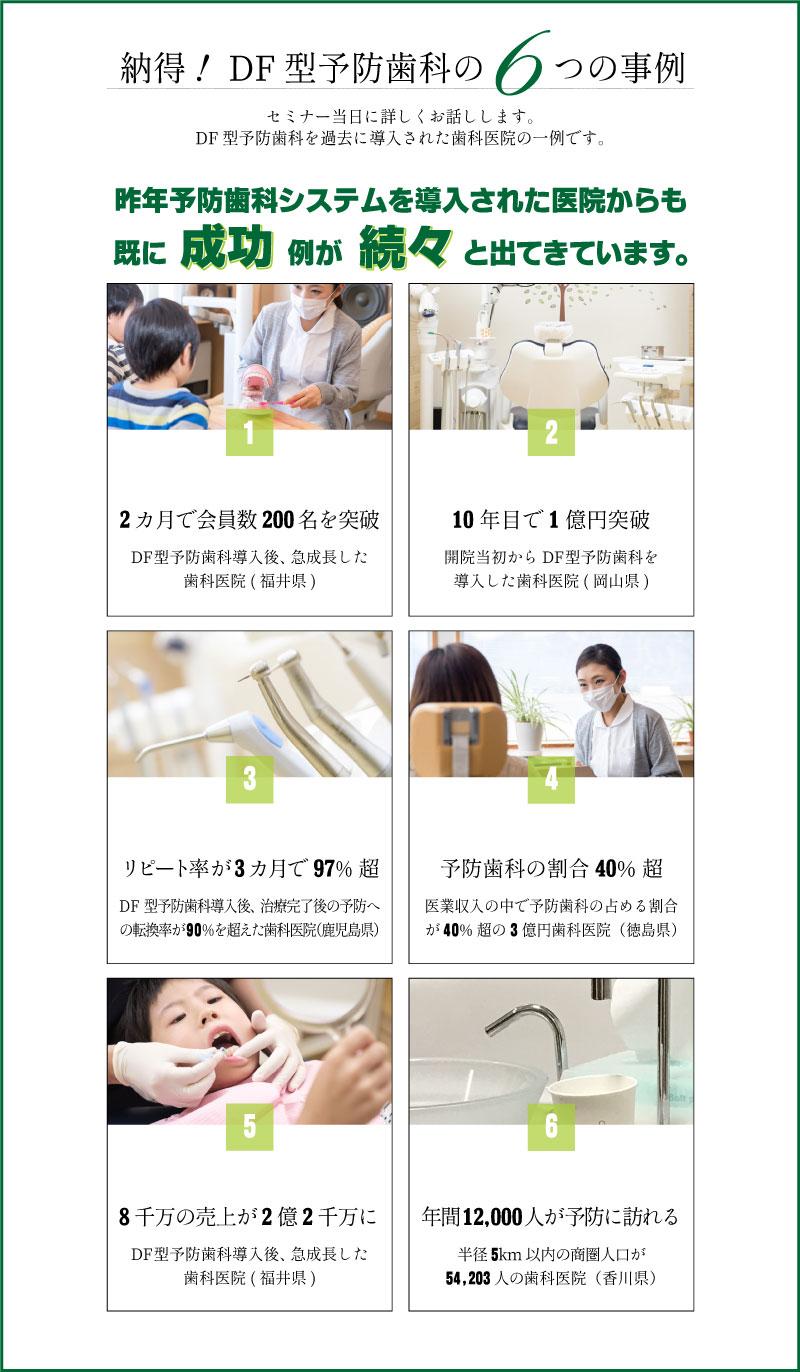 予防歯科導入の6つの成功事例